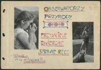 Obserwatorzy przyrody. Przyjaciele zwierząt - Kownacka, Maria (1894 - 1982)