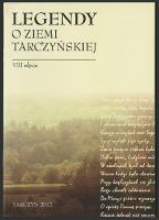 Legendy o Ziemi Tarczyńskiej : (VIII edycja)
