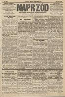 Naprzód : organ centralny polskiej partyi socyalno-demokratycznej. 1910, nr283
