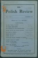 The Polish Review. 1918 vol. 2 no. 3 (december)