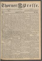 Thorner Presse 1898, Jg. XVI, Nro. 161 + Beilage