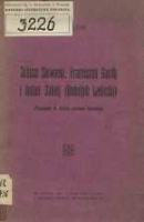 Juliusz Słowacki, Franciszek Gaudy i Anton Žakelj (Rodoljub Ledinski): (przyczynek do historyi motywów literackich) - Hahn, Wiktor (1871-1959)
