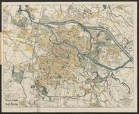 Briegers Stadtplan von Groß-Breslau : mit einem Verzeichnis der Straßen, Plätze, Postbestellanstalten, Behörden, Sehenswürdigkeiten und öffentlichen Gebäuden
