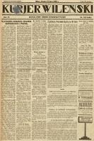 Kurjer Wileński : niezależny organ demokratyczny. 1929, nr148