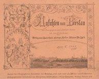 Ansichten von Breslau nach Photographien aus Lobethals Atelier von ...