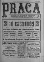 Praca: tygodnik polityczny i literacki, illustrowany. 1913.02.23 R.17 nr8