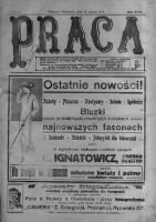 Praca: tygodnik polityczny i literacki, illustrowany. 1913.03.16 R.17 nr11