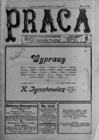 Praca: tygodnik polityczny i literacki, illustrowany. 1913.02.16 R.17 nr7