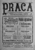 Praca: tygodnik polityczny i literacki, illustrowany. 1913.04.20 R.17 nr16