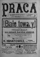 Praca: tygodnik polityczny i literacki, illustrowany. 1913.04.13 R.17 nr15