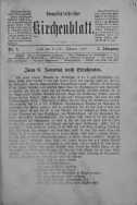 Evangelisch-Lutherisches Kirchenblatt 2 luty 1886 nr 3