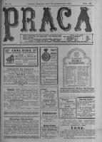 Praca: tygodnik polityczny i literacki, illustrowany. 1916.10.22 R.20 nr43