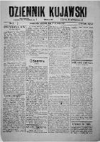 Dziennik Kujawski. 1919, R. 27 nr 5 (9 stycznia)