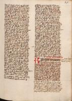 Postilla super epistolas dominicales ; Sermo de novo sacerdote ; Lectiones vigiliarum - Matthias de Liegnitz