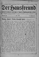 Der Hausfreund 1 lipiec 1923 nr 26