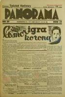 Panorama 13 grudzień 1936 nr 50
