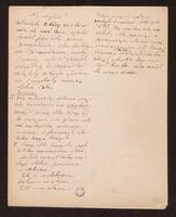 Notatki do opowiadania Nic nie ginie [autograf] - Prus, Bolesław (1847-1912)