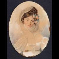 Portret pianistki Marii Szymanowskiej - Woyno, Zofia (fl. 1810-1830)