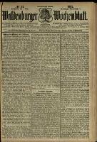 Waldenburger Wochenblatt, Jg. 38, 1892, nr 37