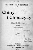 Chiny i Chińczycy - Plauchut, Edmond