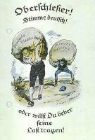 Oberschlesier! Stimme deutsch oder willst Du lieber seine Last tragen!