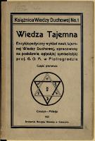 Tajemna wiedza duchowa - Gomulicki, Marian