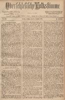 Oberschlesische Volksstimme, 1888, Jg. 14, Nr. 296