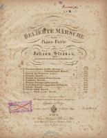 Beliebte Märsche für das Piano-Forte. No. 11, Wiener Stadt-Garde Marsch. Werk 246 - Strauss, Johann (1804-1849 ; ojciec)