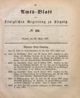 Amts-Blatt der Königlichen Regierung zu Liegnitz, 1857, Jg. 47, No 12