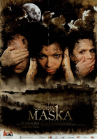 Czarna maska - plakat [Dokument życia społecznego] - Jaremen, Janusz (1966- )