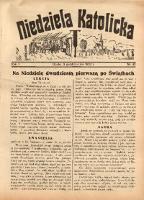 Niedziela Katolicka, 1932, R. 1, nr 40