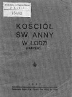 Kościół św. Anny w Łodzi - Parafia pw. św. Anny (Łódź).