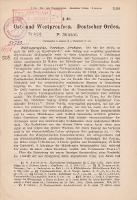 Jahresberichte der Geschichtswissenschaft. Sonderdruck - Simson, Paul