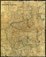 Mappa gubernii Królestwa Polskiego : z oznaczeniem odległości na drogach żelaznych, bitych, i zwyczajnych - Gotz, Marceli