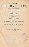 Chemisches Zentralblatt : vollständiges Repertorium für alle Zweige der reinen und angewandten Chemie, Jg. 95, Bd.1, Nr.12