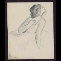 Szkic baletnicy - Raynefeld, Józef (1908-1940)