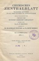 Chemisches Zentralblatt : vollständiges Repertorium für alle Zweige der reinen und angewandten Chemie, Jg. 99, Bd. 2. Formelregister