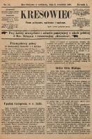 Kresowiec : czasopismo poświęcone nauce, zabawie i wiadomościom politycznym. 1896, nr12