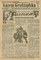 Gazeta Grudziądzka 1925.04.11 R. 31 nr 43