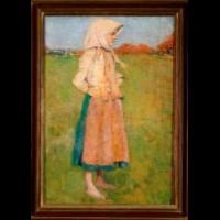 Dziewczyna wiejska - Mehoffer, Józef (1869-1946)