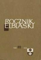Rocznik Elbląski, T. 8