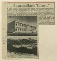 Zakopane. Szkolnictwo 1879-1985 [27]