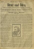 Straż nad Odrą, 1912, R. 12, nr 117