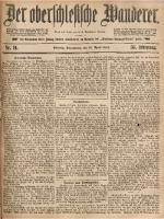 Der Oberschlesische Wanderer, 1883, Jg. 56, Nr. 91