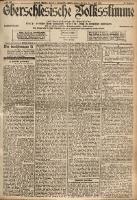 Oberschlesische Volksstimme, 1901, Jg. 26, Nr. 153