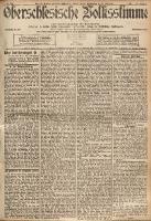 Oberschlesische Volksstimme, 1901, Jg. 26, Nr. 156
