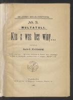Kto z was bez winy... - Multatuli (1820-1887)