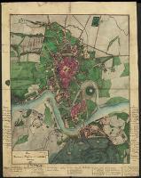Plan Krakowa, Podgórza i najbliższej okolicy - Madurowicz, Maurycy (1831-1894)