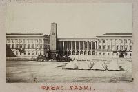 [Pałac Saski]. - Beyer, Karol (1818-1877)