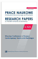 The day returns of WIG20 futures on the Warsaw Stock Exchange – the analysis of the day of the week effect. Prace Naukowe Uniwersytetu Ekonomicznego we Wrocławiu = Research Papers of Wrocław University of Economics, 2016, Nr 428, s. 298-307 - Widz, Ewa